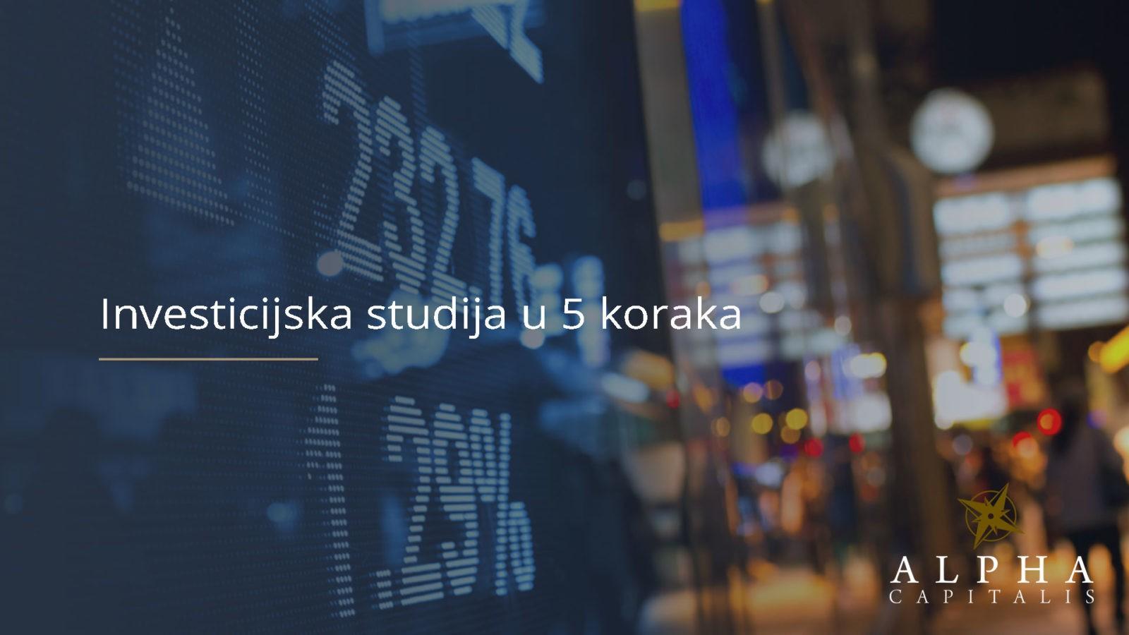 investicijska studija