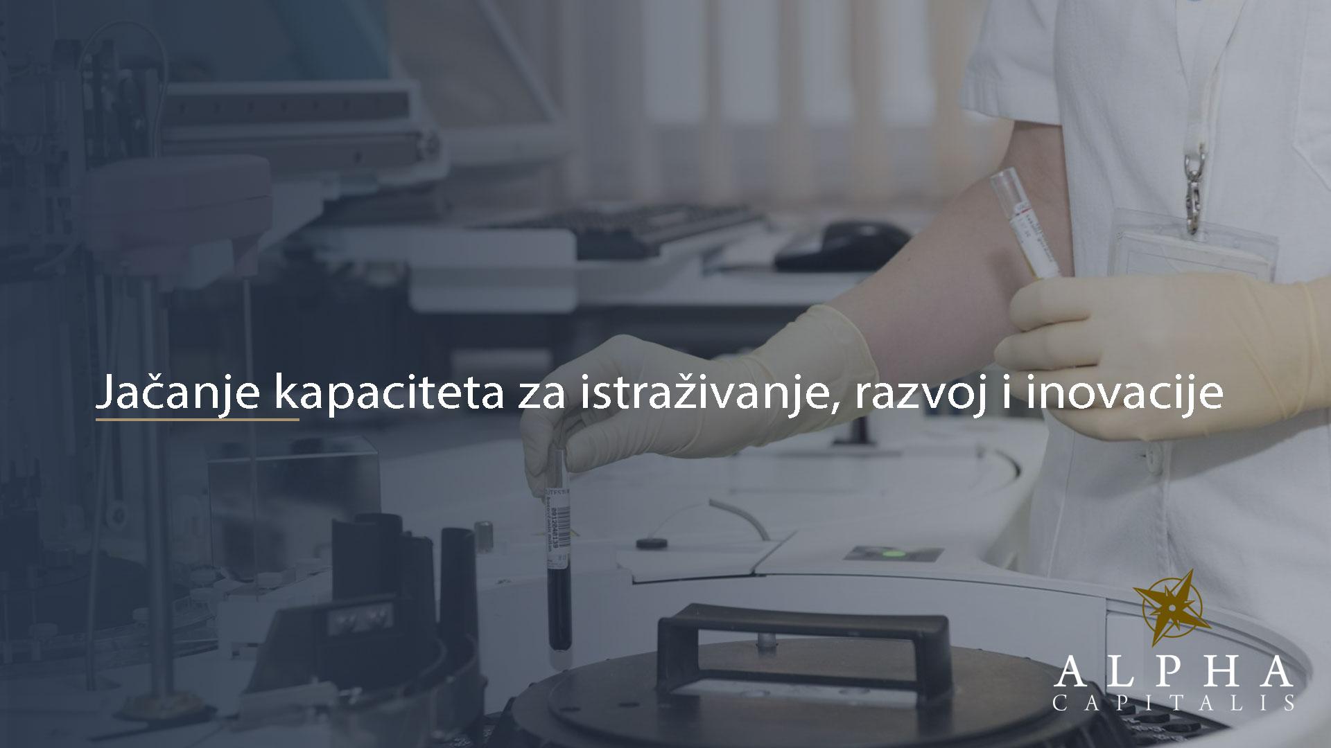 alpha-capitalis-Jačanje kapaciteta za istraživanje, razvoj i inovacije