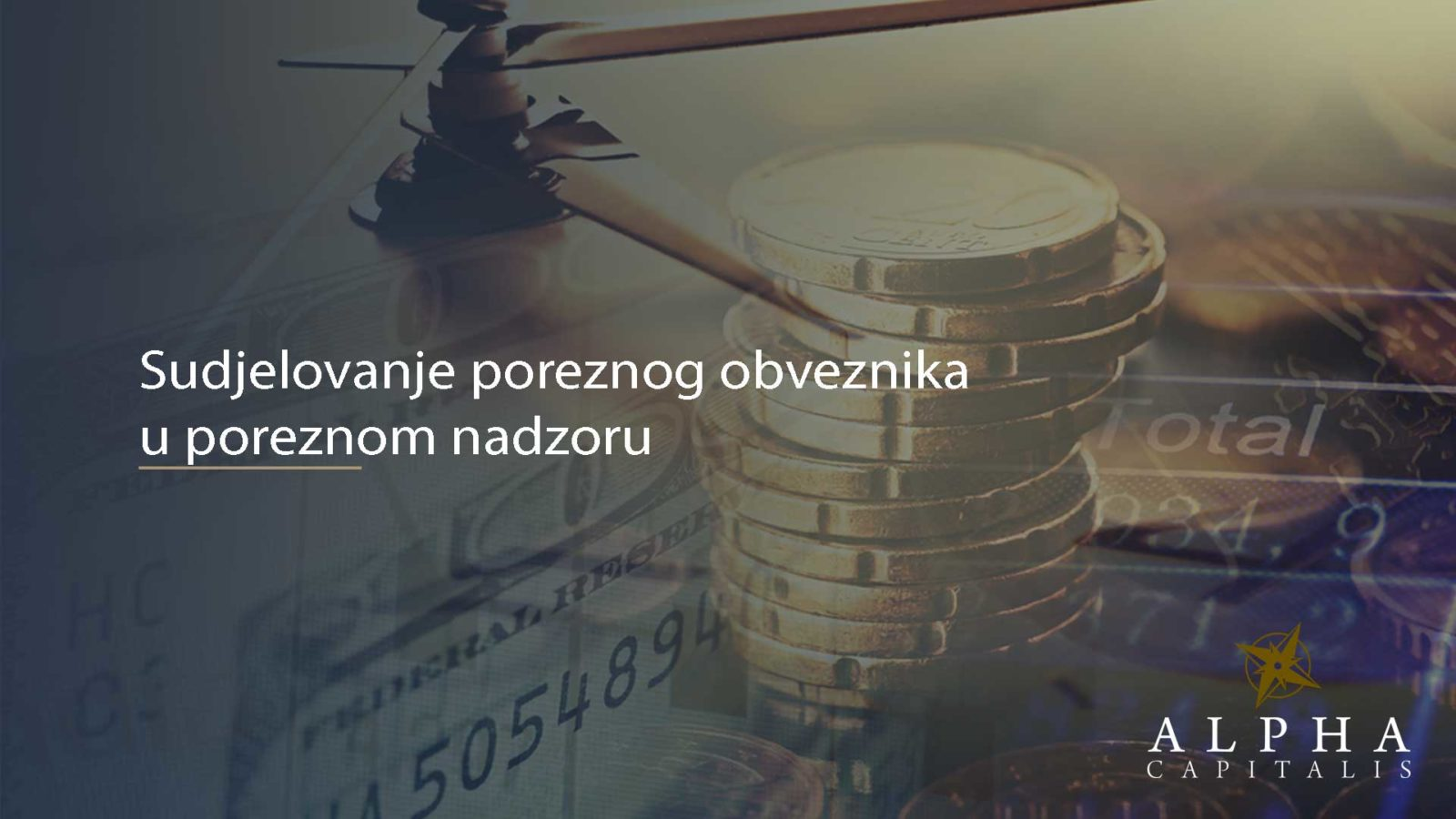 Porezni nadzor - Sudjelovanje poreznog obveznika u poreznom nadzoru