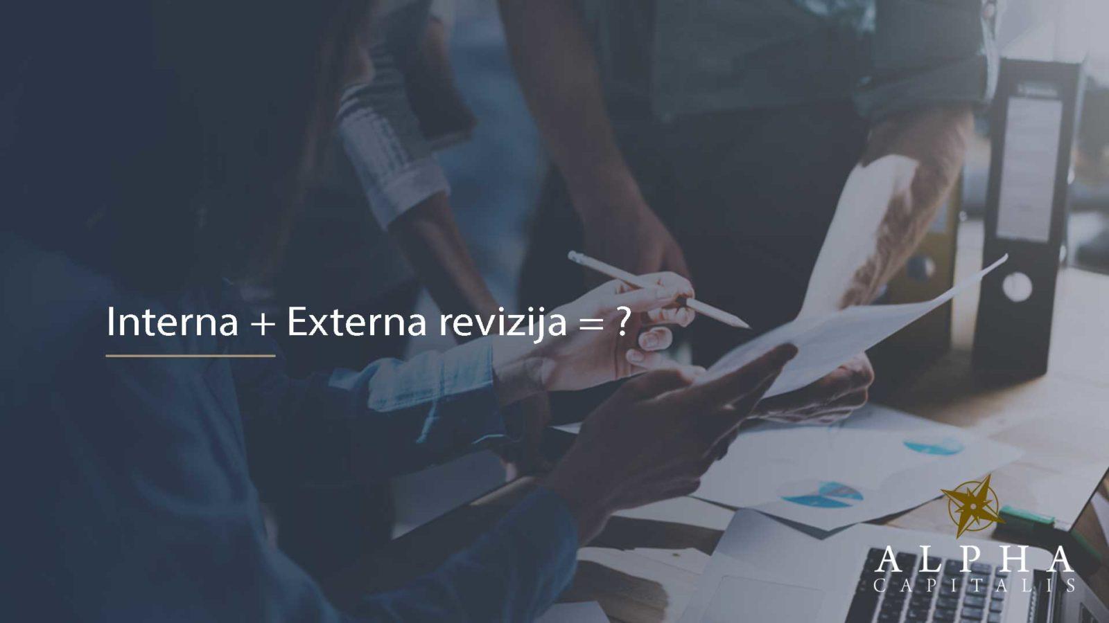 Interna i externa revizija 2019 02 09 - Suradnja interne i eksterne revizije