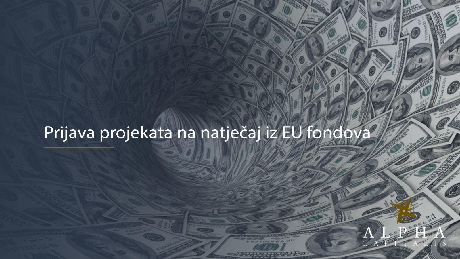 EU fondovi 2019 10 28 - Prijava projekta na natječaj iz EU fondova