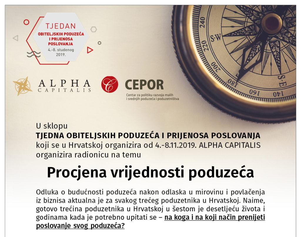 alpha capitalis pozivnica top 1024x808 - ALPHA CAPITALIS AKADEMIJA: Business transfer obiteljskih društava | Edukacija o procjeni vrijednosti
