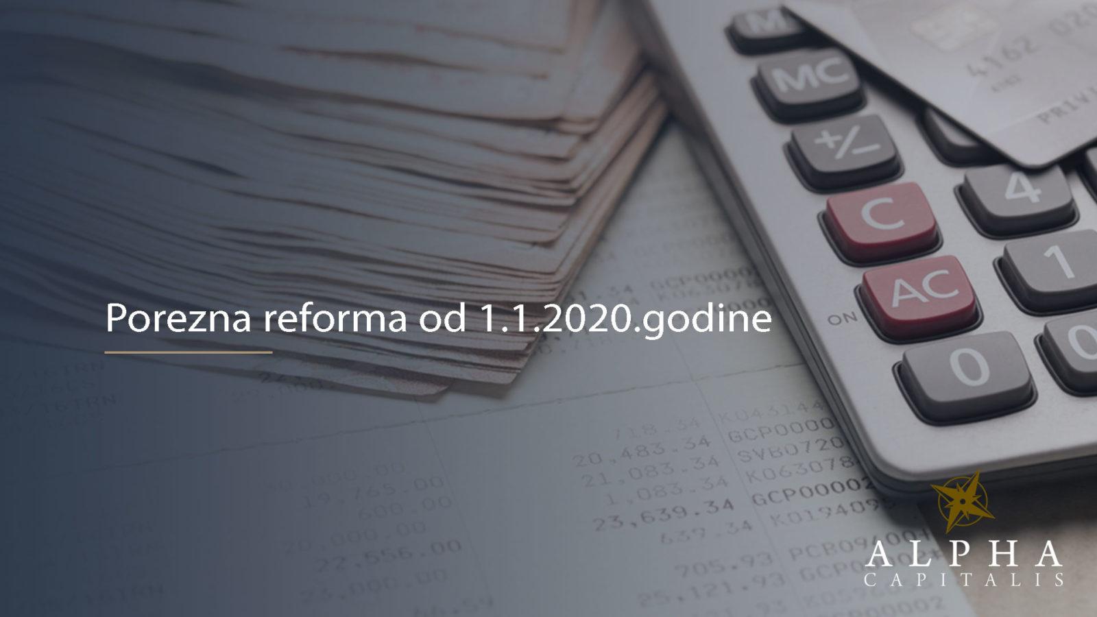 Porezna reforma 2020 2019 12 24 - Porezna reforma: 4. krug poreznog rasterećenja u primjeni od 1.1.2020.