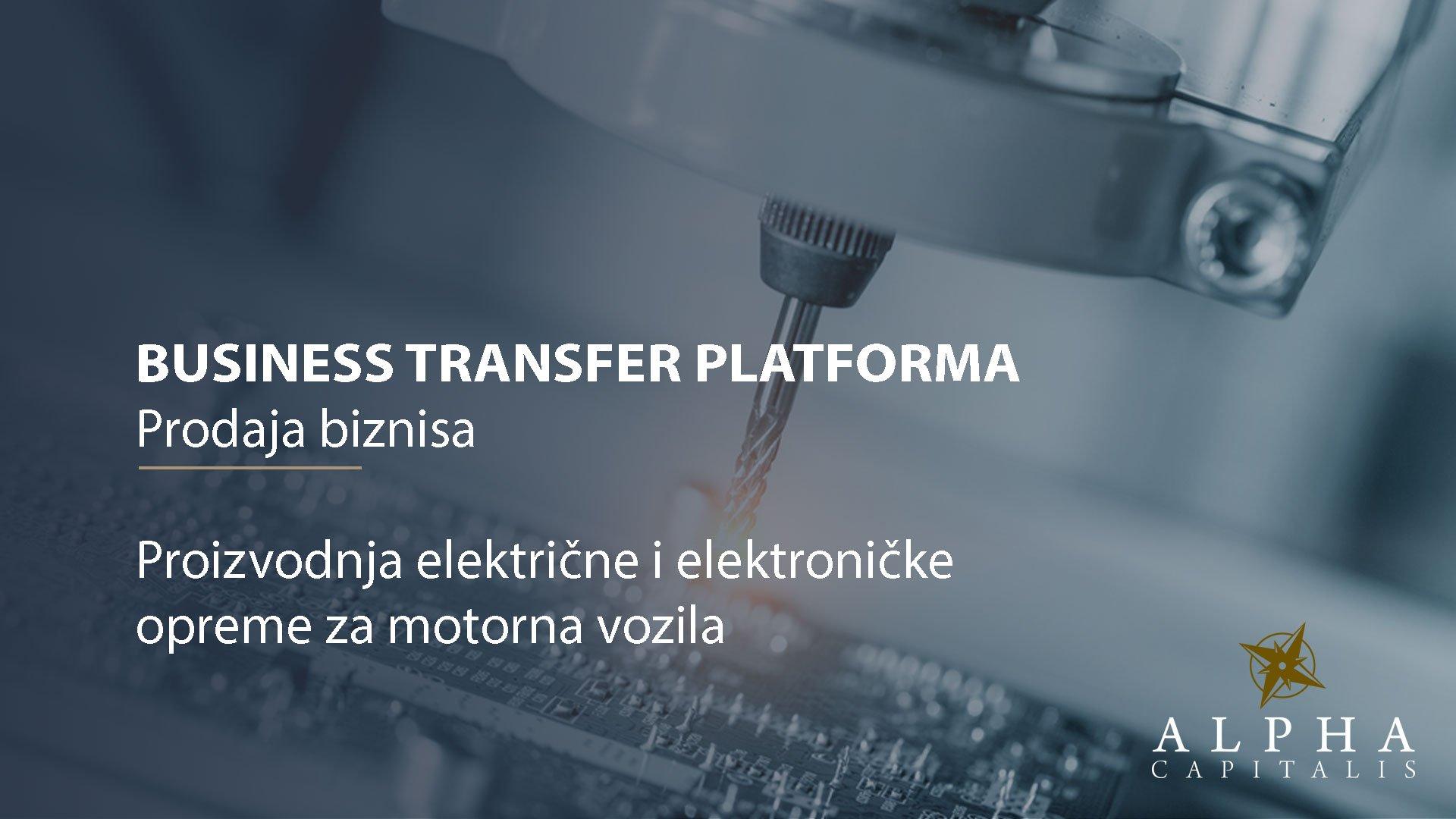 Business-transfer-platforma-proizvodnja-električne-elektroničke-opreme-za-motorna-vozila