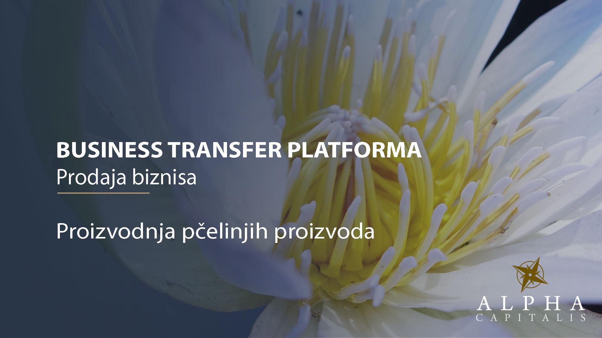 Business-transfer-platforma-prodaja biznisa-pčelarstvo