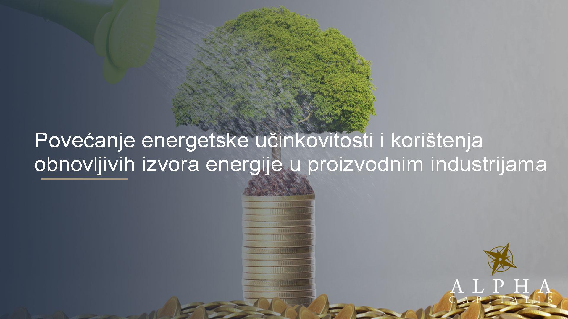 povećanje energetske učinkovitosti